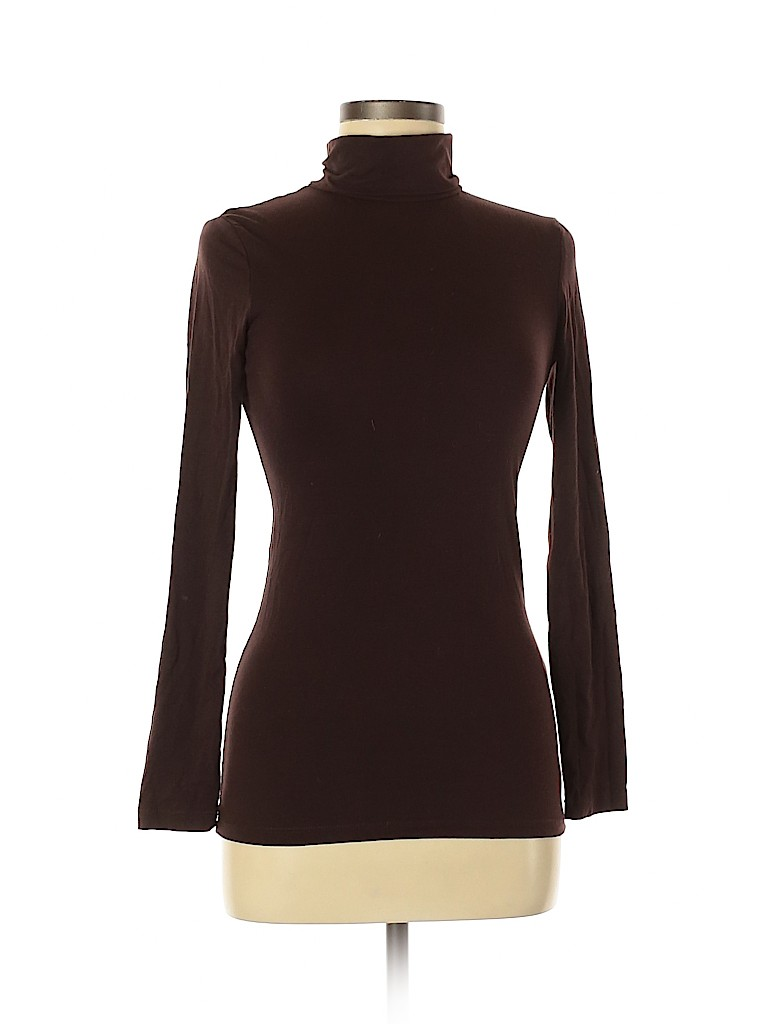 Made for Me 2 Look Amazing Women Long Sleeve Turtleneck Size M
