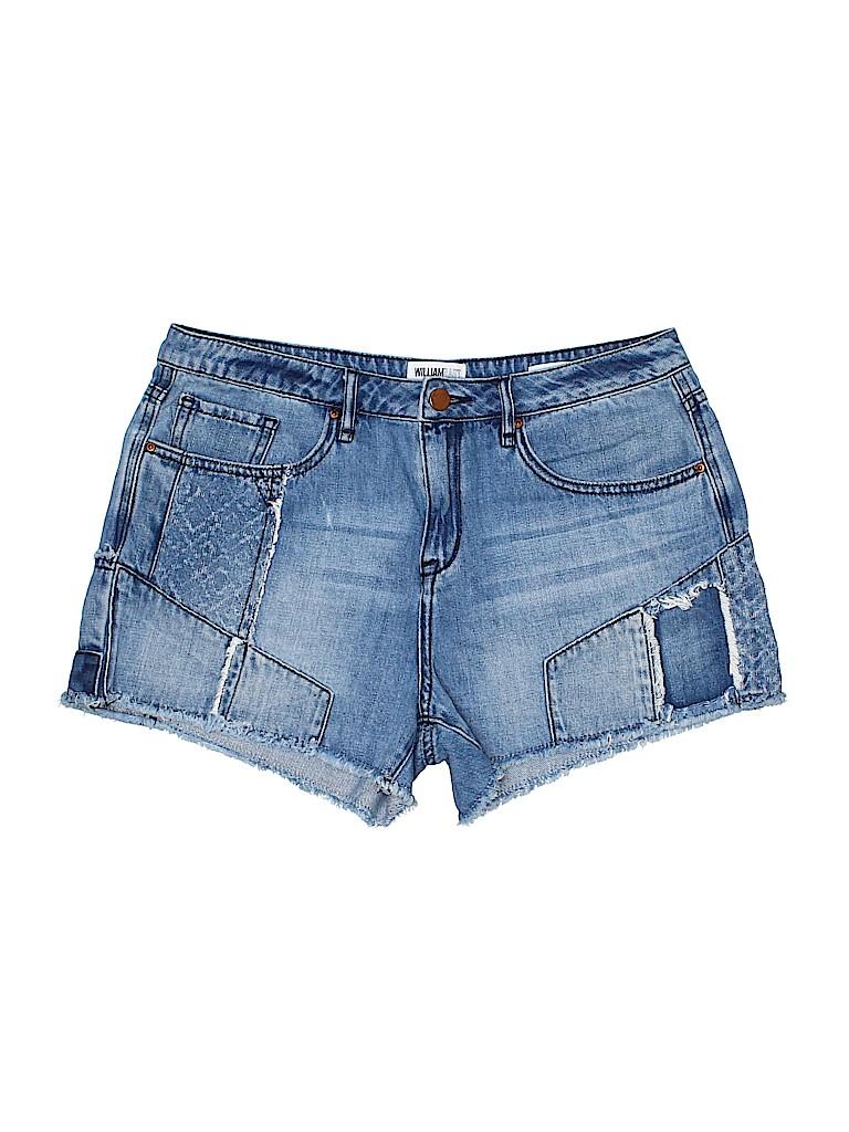William Rast Women Denim Shorts 30 Waist