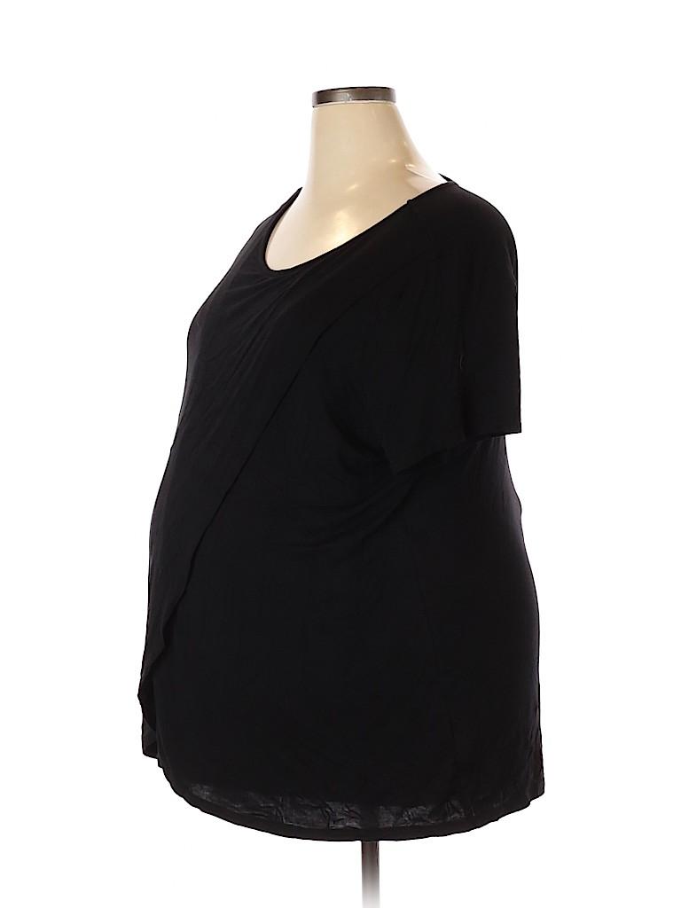 Old Navy - Maternity Women Short Sleeve Top Size XXL (Maternity)