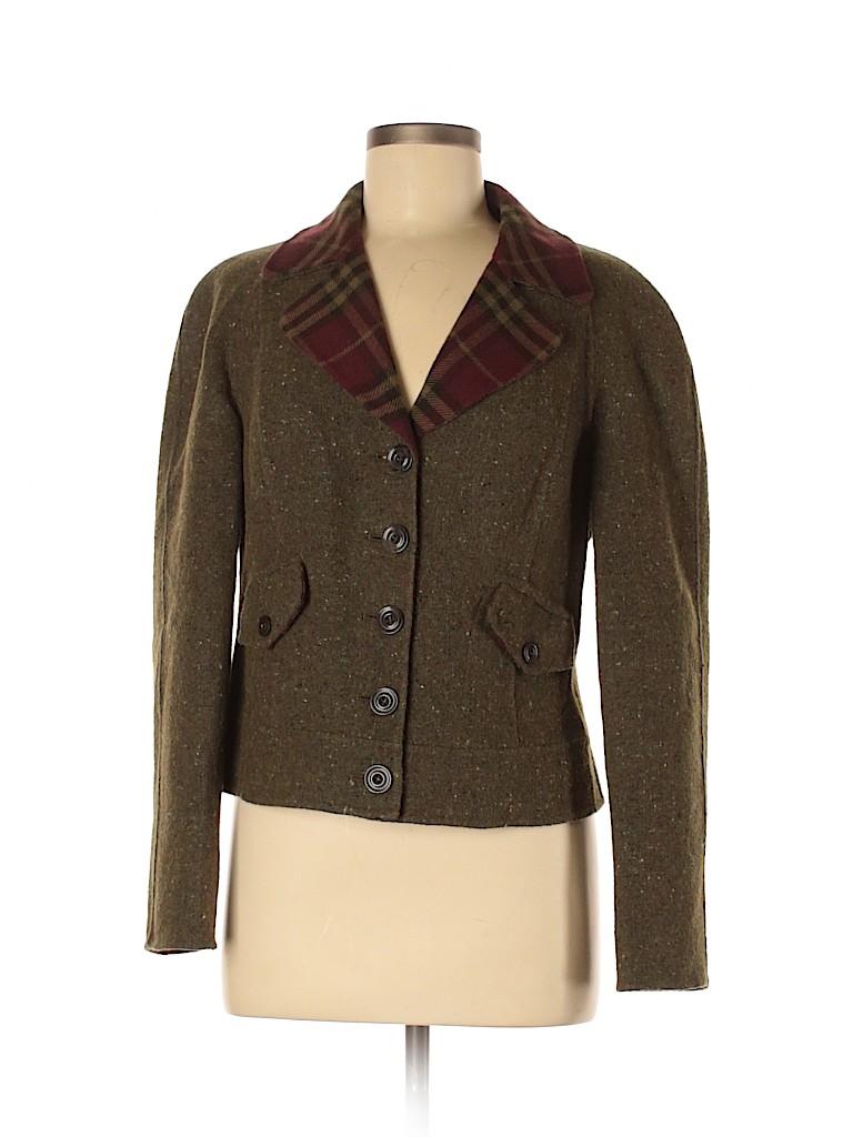 W by Worth Women Wool Blazer Size 8