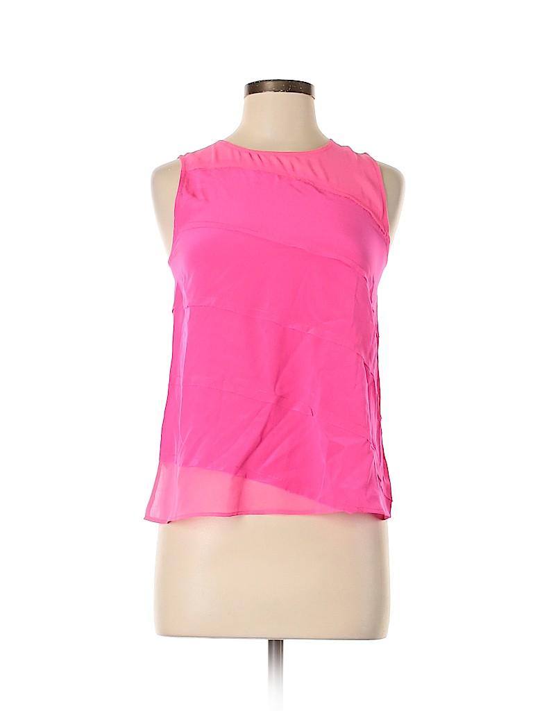 Sandro Women Sleeveless Silk Top Size Sm (1)