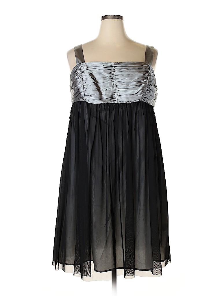 London Times Women Cocktail Dress Size 18w (Plus)