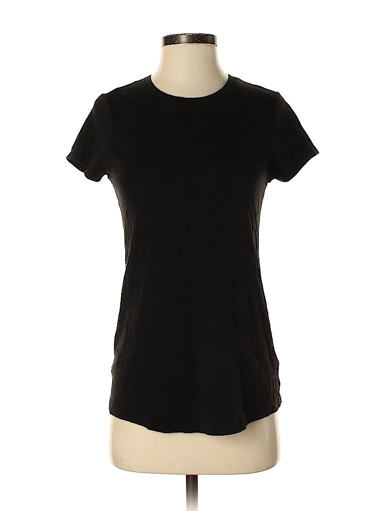 Faded Glory Women Short Sleeve T-Shirt Size 4 - 6