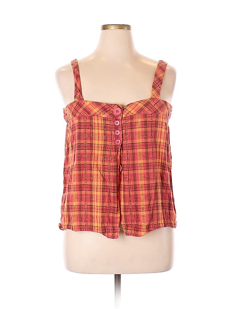Metro Style Women Sleeveless Blouse Size 18 (Plus)
