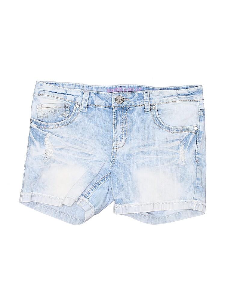 Hydraulic Women Denim Shorts Size 15 - 16