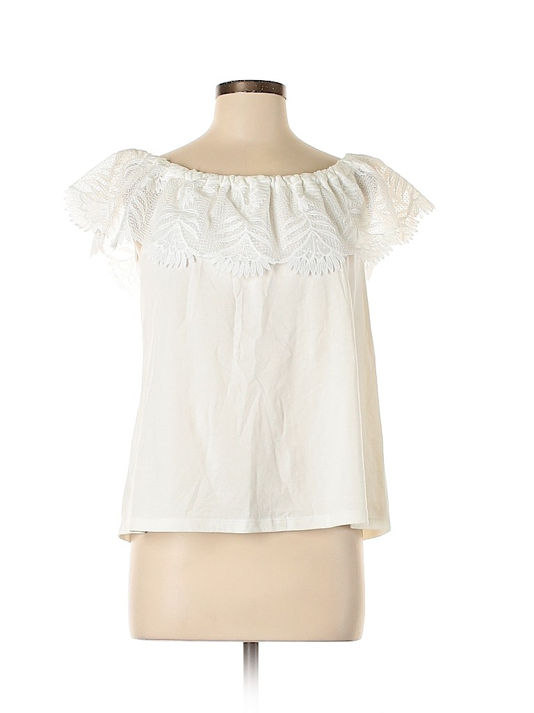 A New Day Women Short Sleeve Top Size M