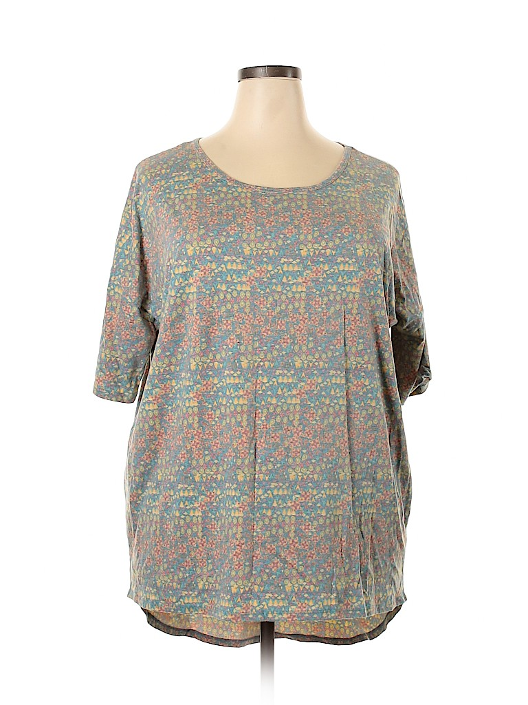 Lularoe Women Short Sleeve Top Size 2X (Plus)