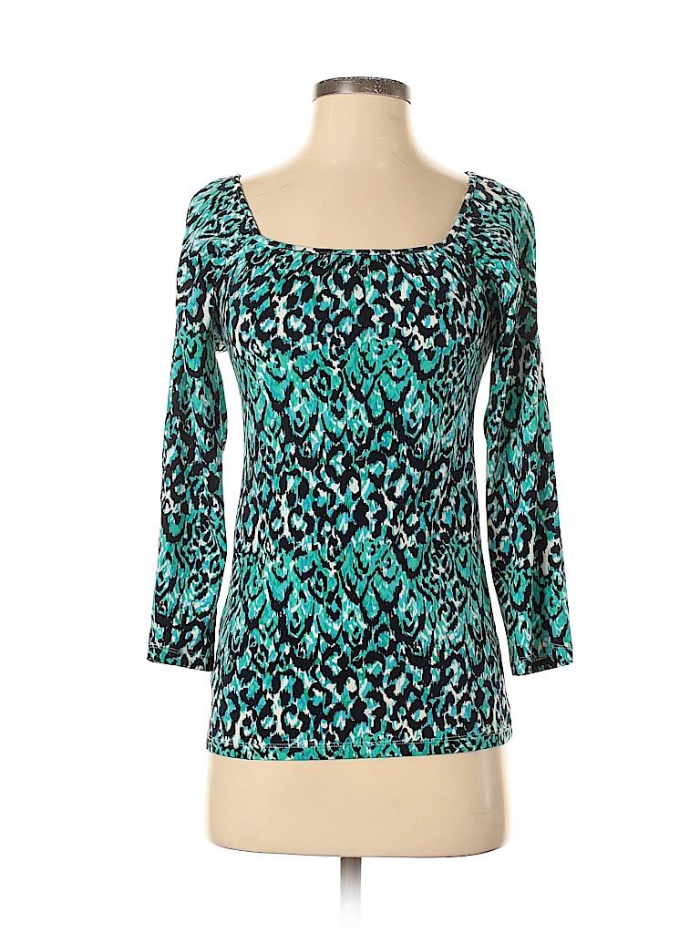 Ann Taylor Women 3/4 Sleeve Top Size XS