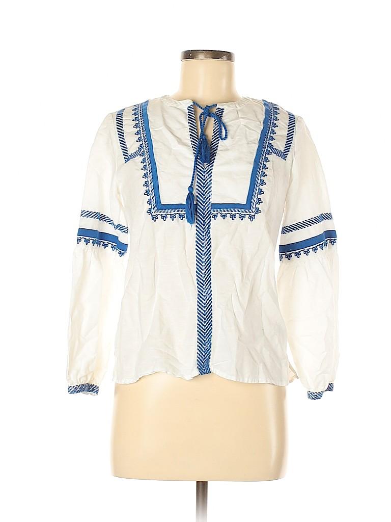 J. Crew Women Long Sleeve Blouse Size 00