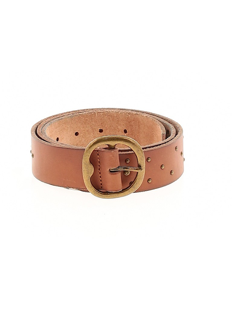 Assorted Brands Women Leather Belt Size L