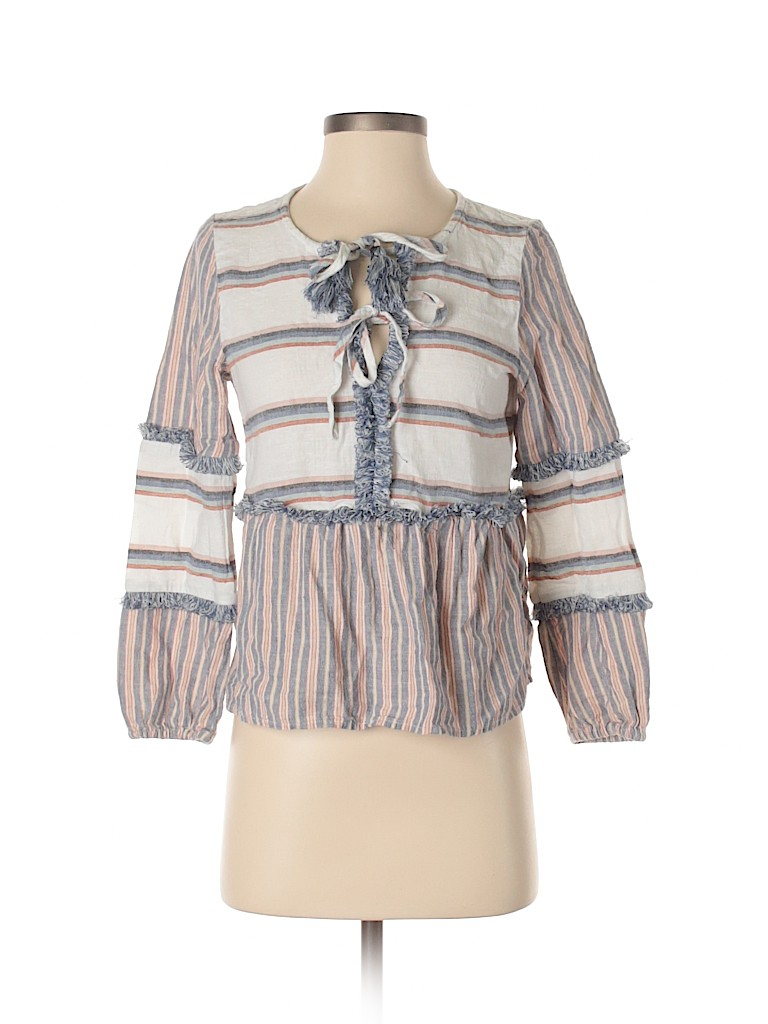 American Eagle Outfitters Women Long Sleeve Blouse Size XS