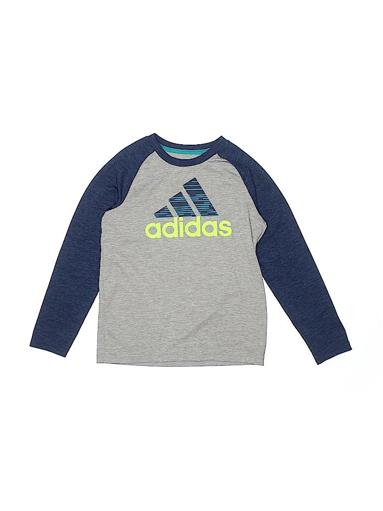 Adidas Boys Active T-Shirt Size 7