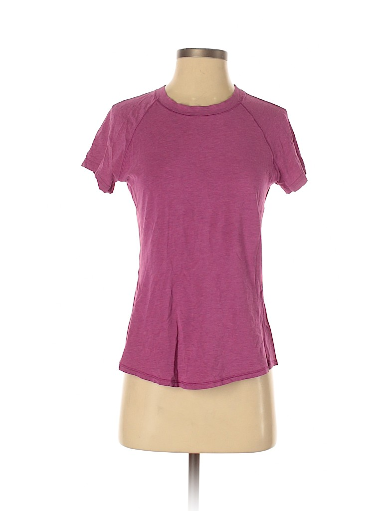 Lululemon Athletica Women Short Sleeve T-Shirt One Size