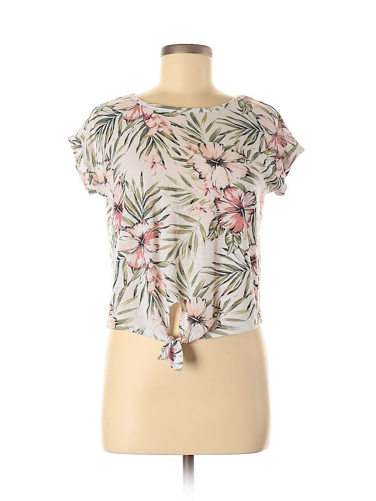 Prince & Fox Women Short Sleeve T-Shirt Size M