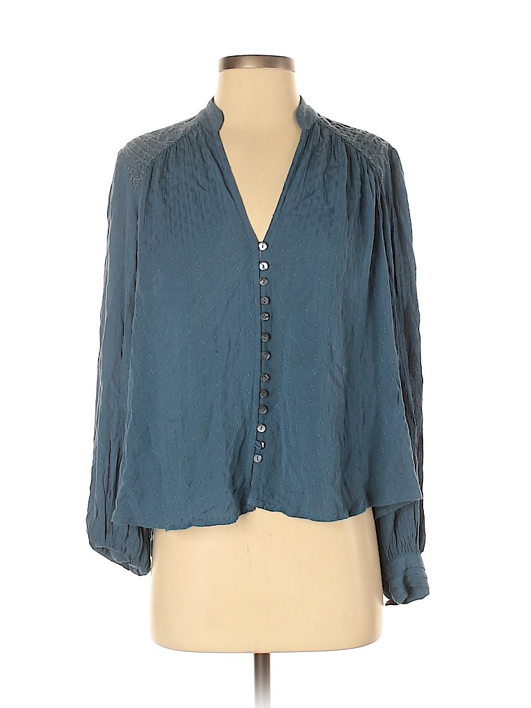 Free People Women Long Sleeve Blouse Size XS