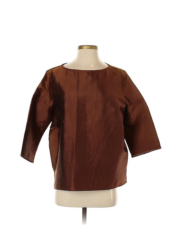 Dries Van Noten Women Short Sleeve Blouse Size 40 (IT)